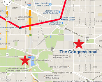 The-Congressional-Location on Capitol Hill